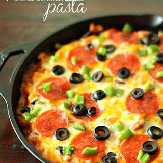 Pizza Skillet Pasta.