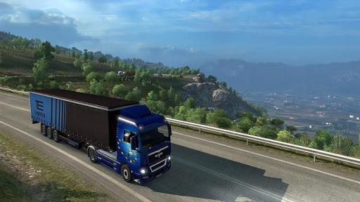 Euro Truck Drifting Simulator (Heavy Truck Driver) 22.0 APK MOD screenshots 1