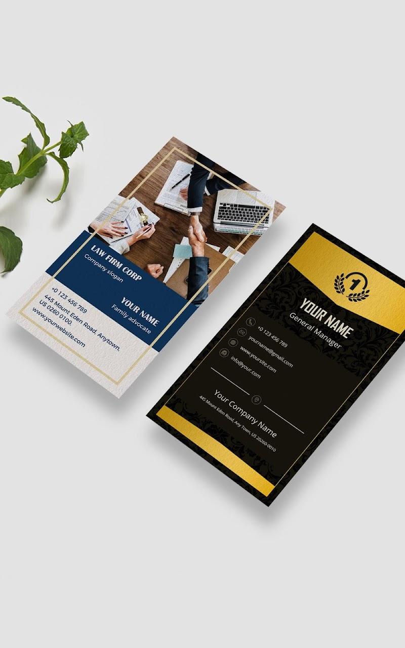 Business Card Maker - Branding Template Editor Screenshot 16