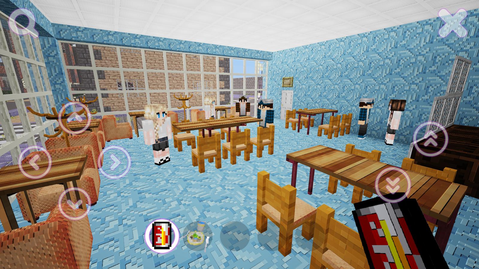 Screenshots of School Girls Craft for iPhone