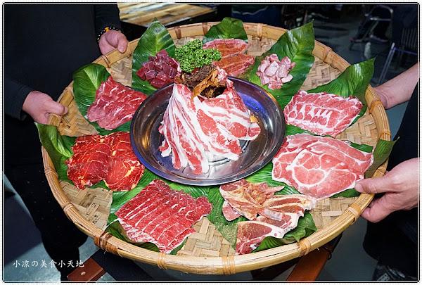 台中第一家彩繪貨櫃屋燒肉攤!超炫用餐氛圍、肉金剛無敵制霸套餐,肉肉控快衝啊~~~