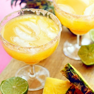 Pineapple Mocktail Margaritas