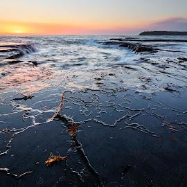 Patterns by Geoffrey Wols - Landscapes Sunsets & Sunrises ( bendalong, coast, seascape, beach, morning,  )