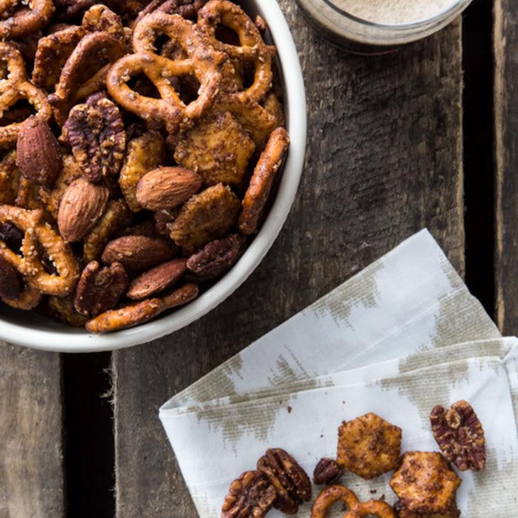 Sweet & Spicy Snack Mix Recipe
