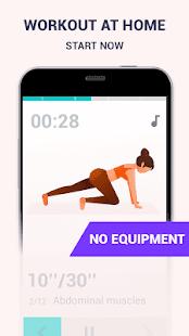 Butt Workout At Home - Female Fitness Screenshot
