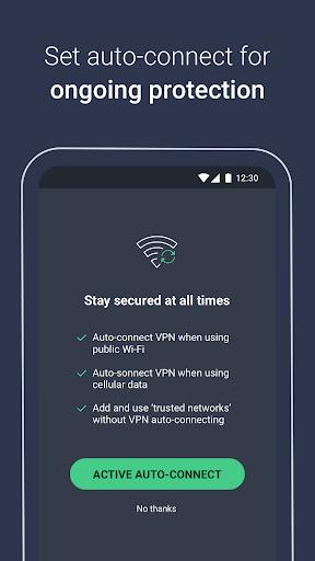 AVG Secure VPN – Unlimited VPN & Proxy server screenshot 5
