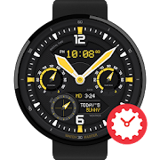 YellowTail watchface by Pluto