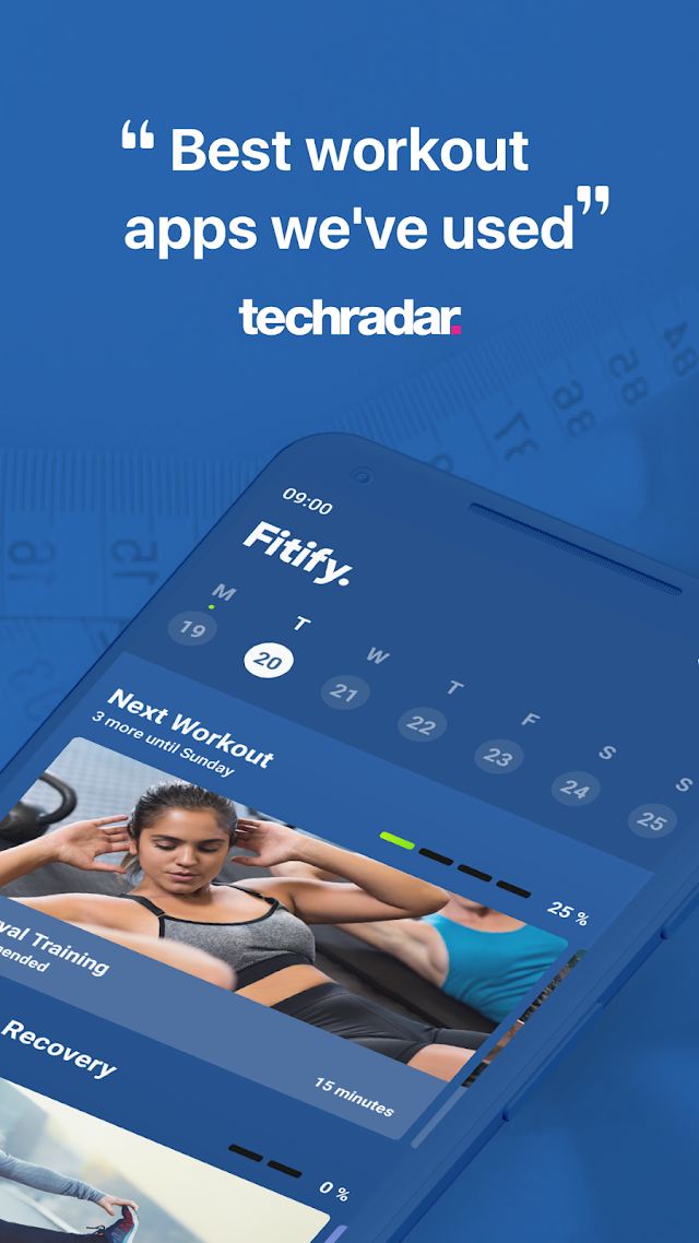 Fitify: Full Body Workout Routines & Plans v1.4.6 [Unlocked]