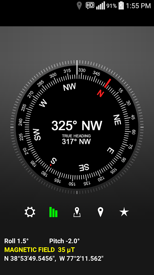 LED Compass- screenshot