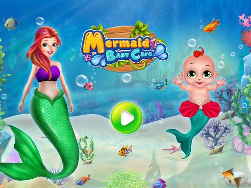 Little Mermaid Baby Care Ocean World 1.8 screenshots 1