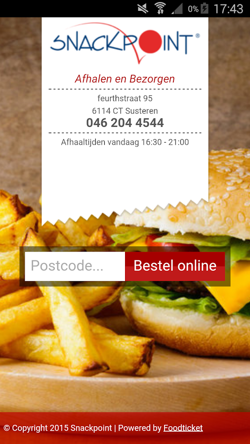Snackpoint Susteren- screenshot