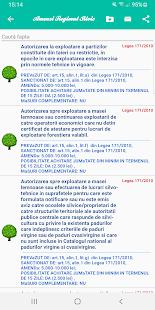 Amenzi Regimul Silvic - Screenshot