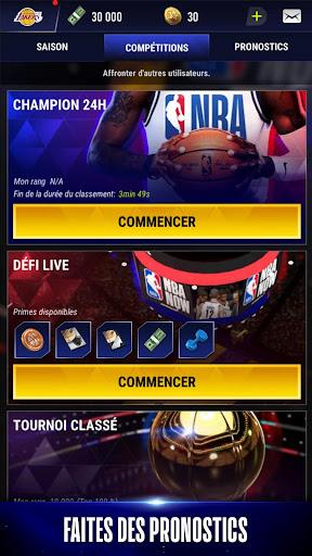 Code Triche NBA NOW, jeu mobile de basket apk mod screenshots 5