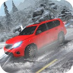 Offroad Snow 4x4 Prado Driving Icon