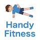 Download Handy Fitness - plank workout with timer For PC Windows and Mac