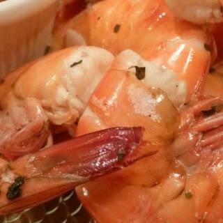 Texas Boiled Beer Shrimp.