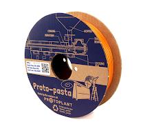 CLEARANCE - Proto-Pasta Tangerine Gold Metallic HTPLA - 2.85mm (0.5kg)