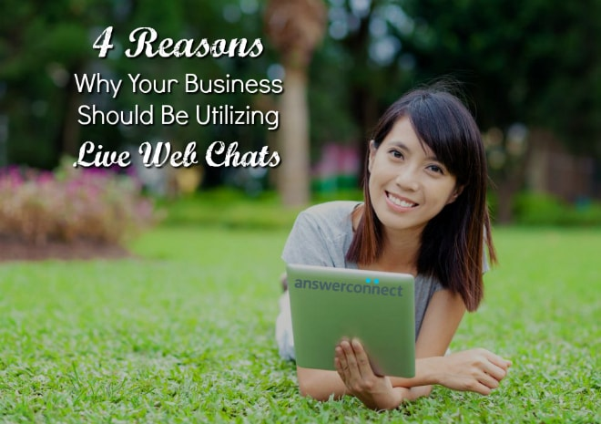 4 reasons your business should be using live web chats