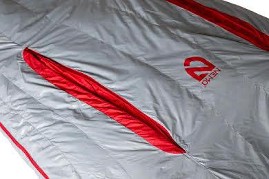 NEMO Kayu 15 800fill Down Regular Mens Sleeping Bag -Titan/Smoke alternate image 5