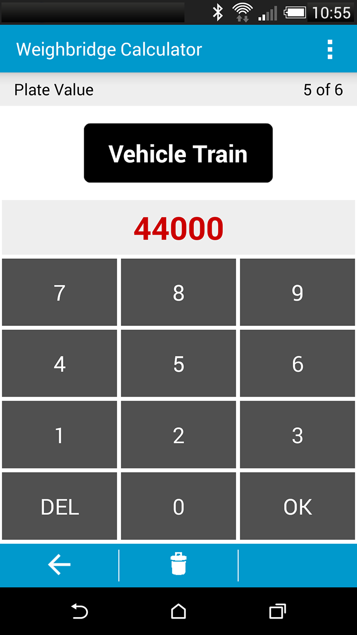 Скриншот Weighbridge Calculator