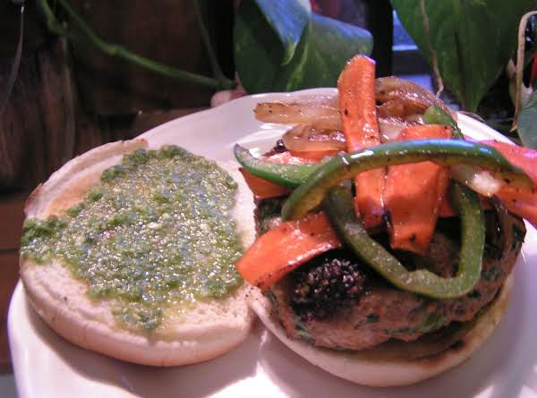St Patty Turkchoy Burger - Dee Dee's
