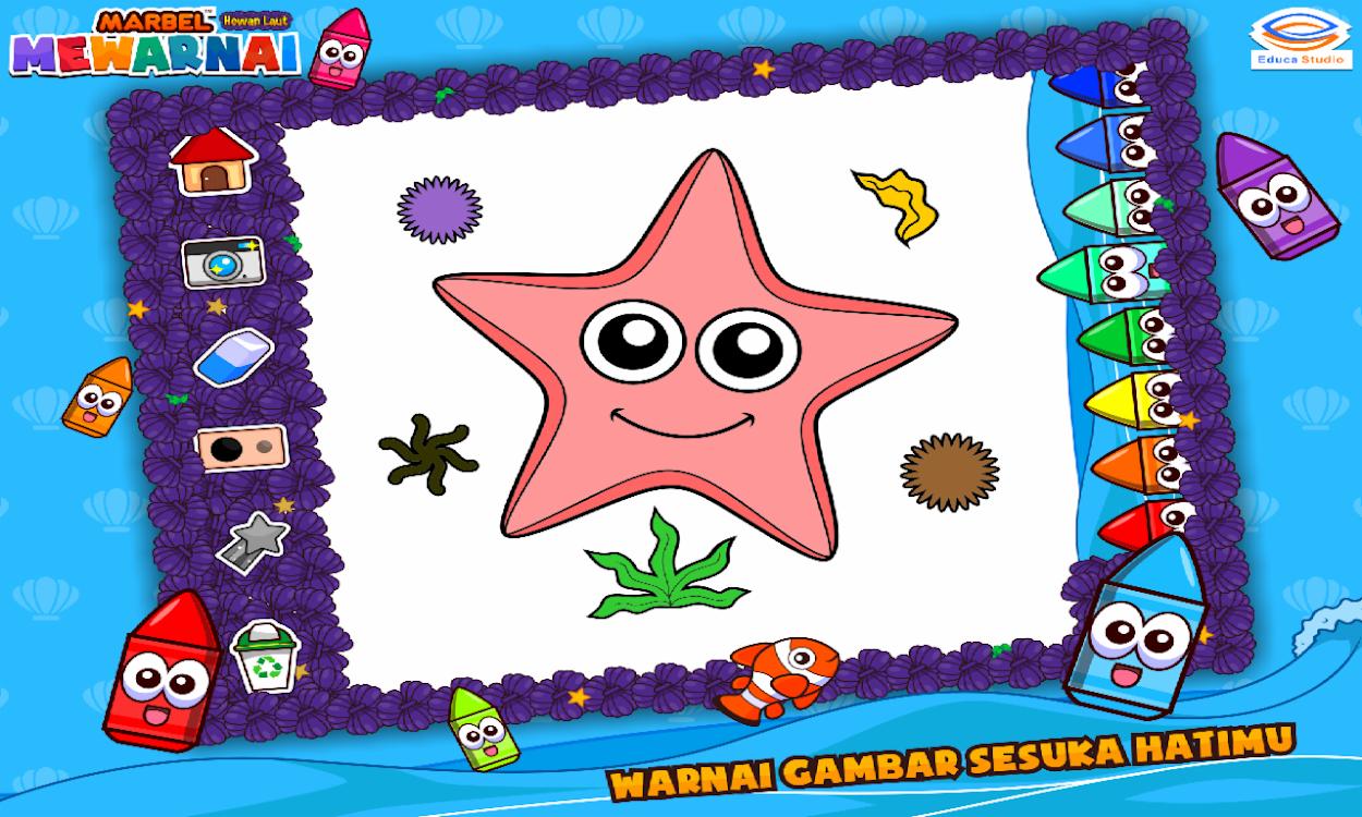 Marbel Mewarnai Hewan Laut – Android App — AppAgg