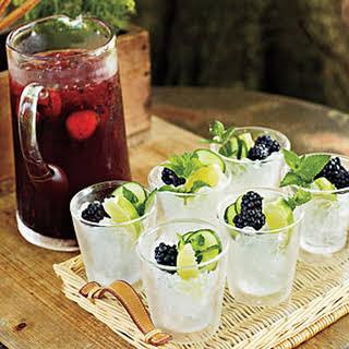 Blackberry Cocktail.