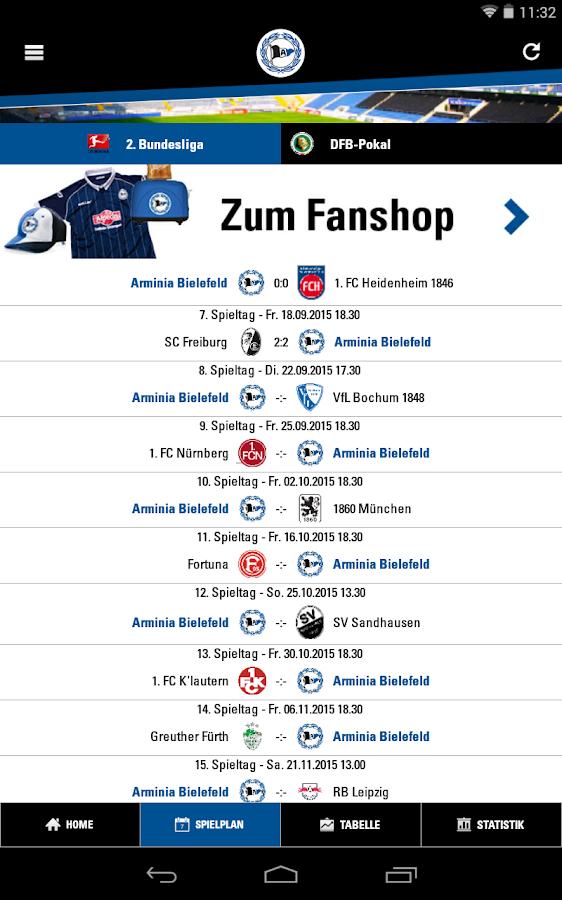 Arminia Bielefeld App