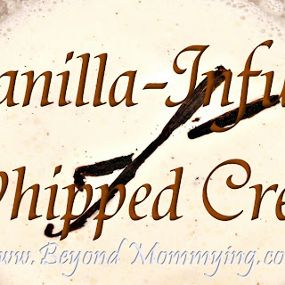 Vanilla-Infused Whipped Cream