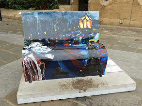 "Photo: BookBenches; Charles Dickens: ""Great Expectations""; Artist: Ivan Liotchev"