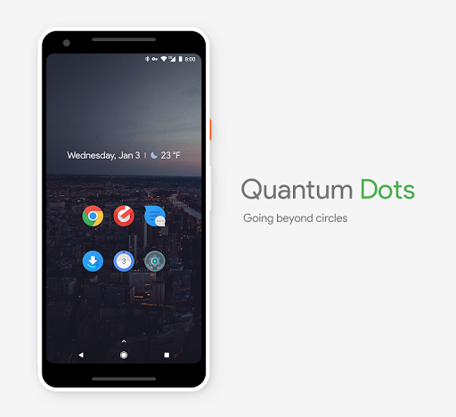 quantum dots - icon pack screenshot 2