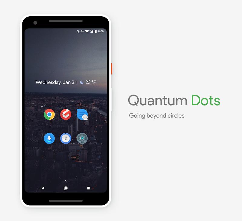 Quantum Dots - Icon Pack Screenshot 1