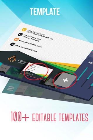 Business Card Maker & Creator Screenshot