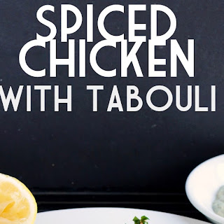 Spiced Chicken with Tabouli