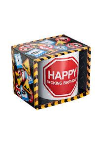 Mugg - Happy f*cking birthday