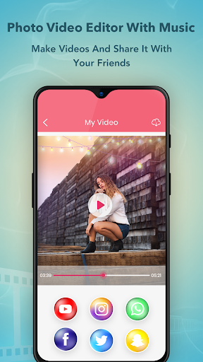 Photo Video Maker with Music : Video Editor screenshot 7