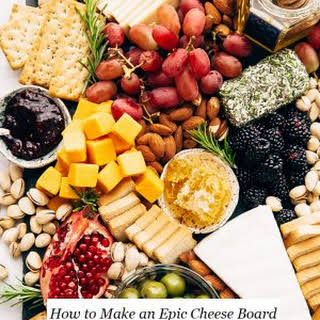 How to Make an Epic Holiday Cheese Board.