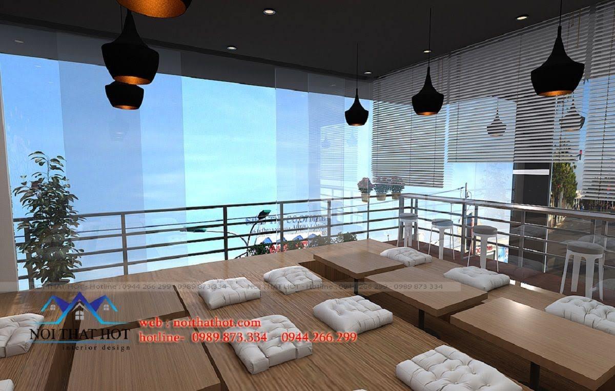 thiết kế nhà hàng lẩu nướng Đông Anh 9