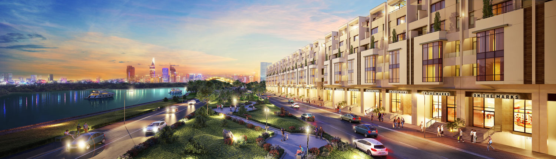 Những căn hộ tiện ích thắp sáng khu dân cư