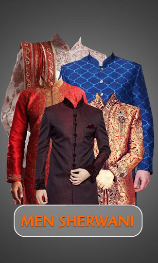 Men Sherwani Photo Suits