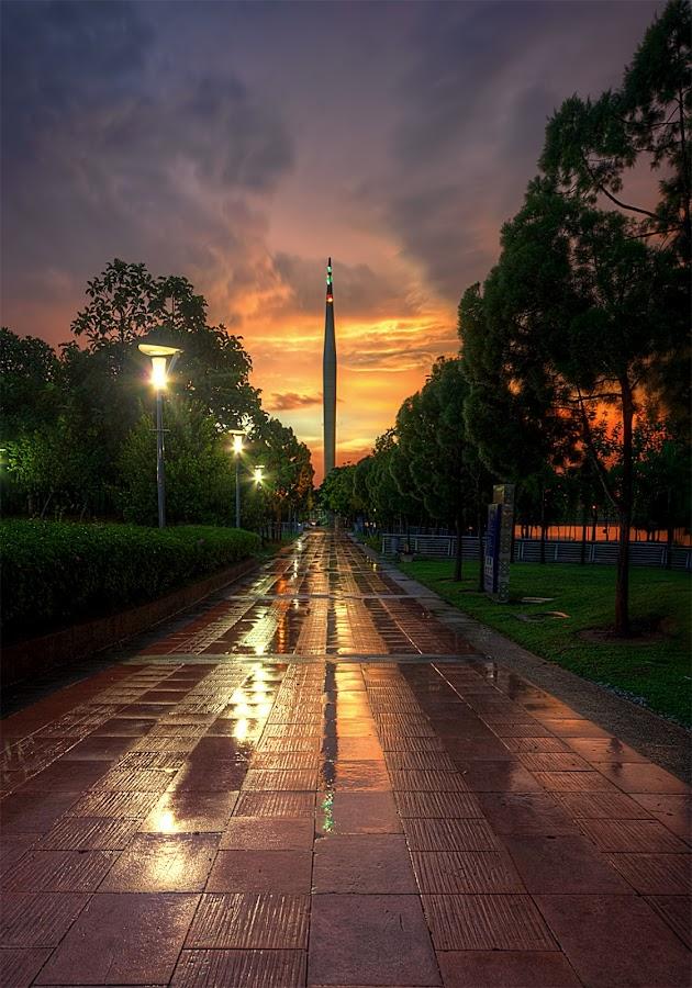 The Dusk After The Rain by Mohd Tarmudi - Landscapes Sunsets & Sunrises