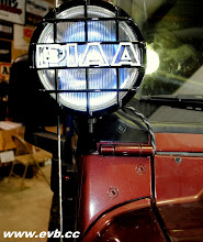 Photo: Piaa 520 Lights on TJ windshield mounts