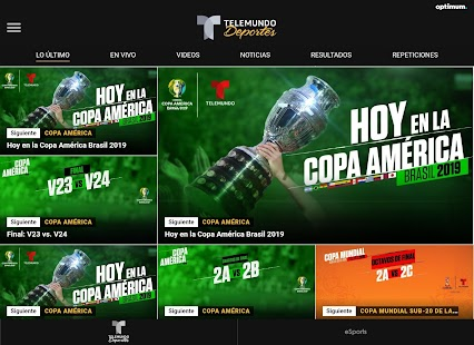 Telemundo Deportes Screenshot