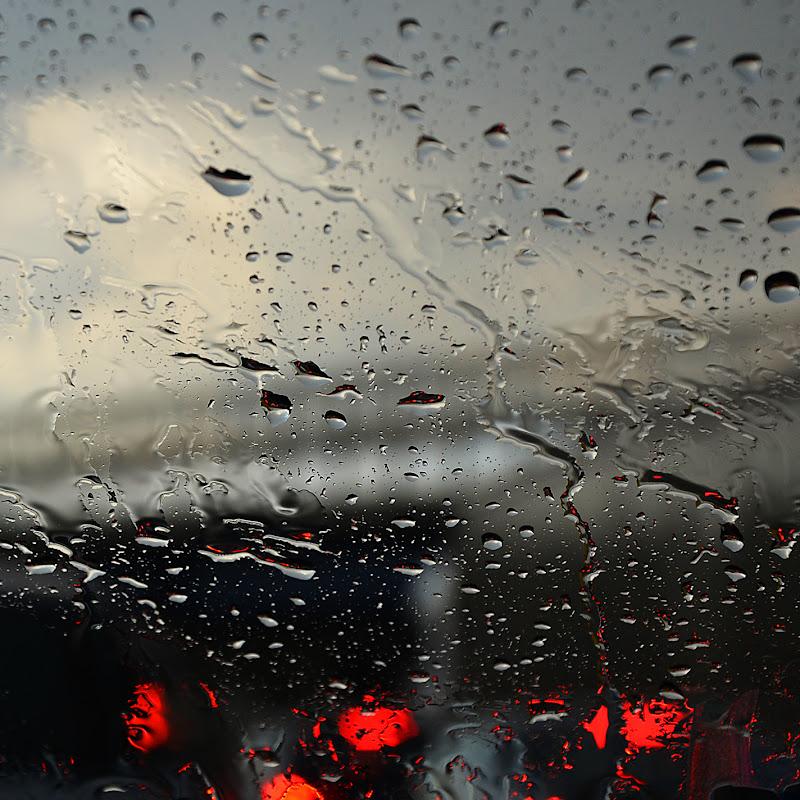 in auto sotto la pioggia di nicoletta lindor