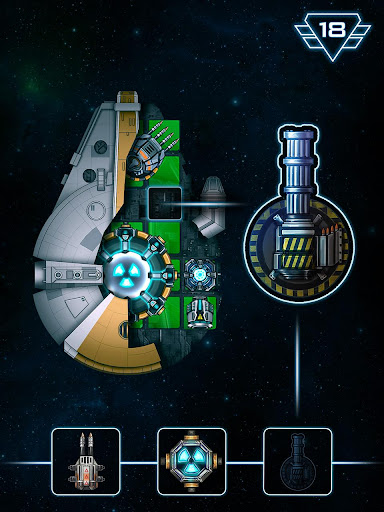 Space Arena: Build & Fight Screenshot