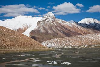 Photo: Tsarap River below Baralacha La and close to Bharatpur (approx 4750 meters above sea level), Manali-Leh Highway, Indian Himalayas
