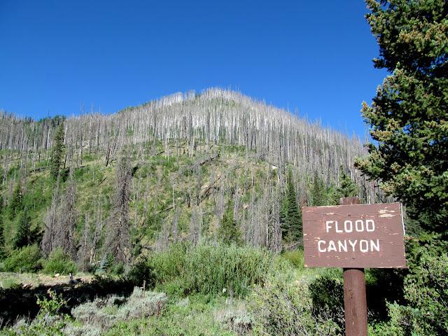 Flood Canyon trailhead