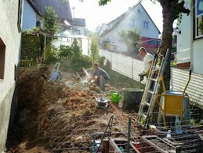 Photo: bei der Arbeit, heute gleich drei Männer, da geht was.....
