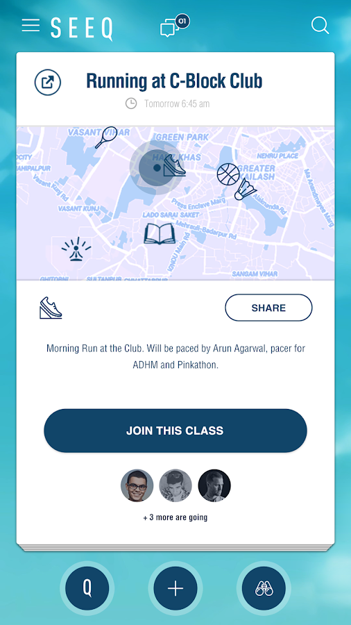 SEEQ - plans, groups, people, and places- screenshot