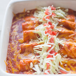 Cheese Enchiladas With Queso Sauce Recipes